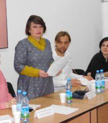 Ганна Веселовська відкриває семінар