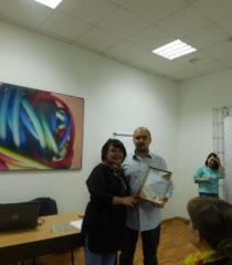 Ганна Веселовська та Богдан Головченко