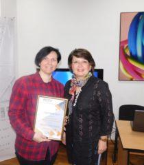 Ганна Веселовська та Євгенія Севостьянова