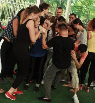 Літня школа 2019: тренер Анна Александрович