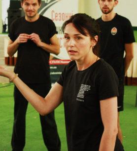 Літня школа 2019: тренер Зоряна Дибовська