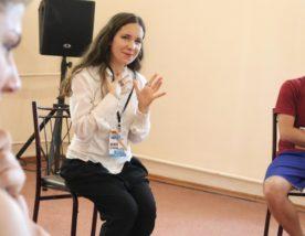 Велика літня школа НСТДУ 2020: Лілія Кривець