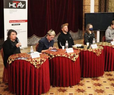 Ганна Веселовська, Ярослава Кравченко, Павло Ар'є, Анастасыя Гайшенець, Дмитро Захоженко