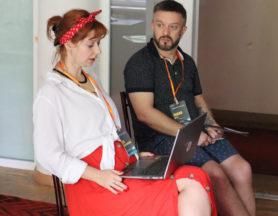 ІІІ Лабораторія драматургії НСТДУ: Павло Ар'є та Лєна Лягушонкова